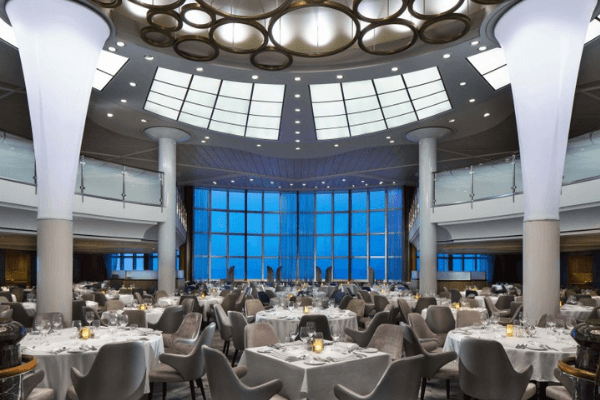 celebrity summit dining room website