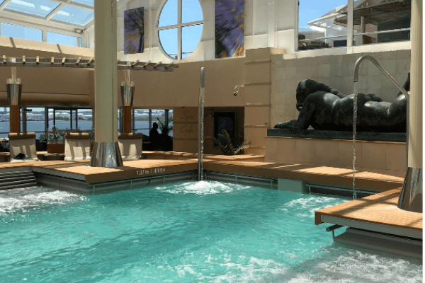 celebrity Summit solarium pool