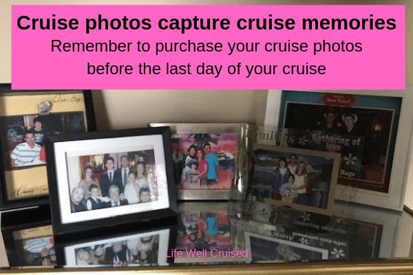cruise photo memories