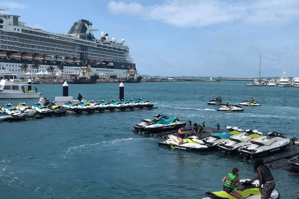 bermuda heritage wharf cruise ship