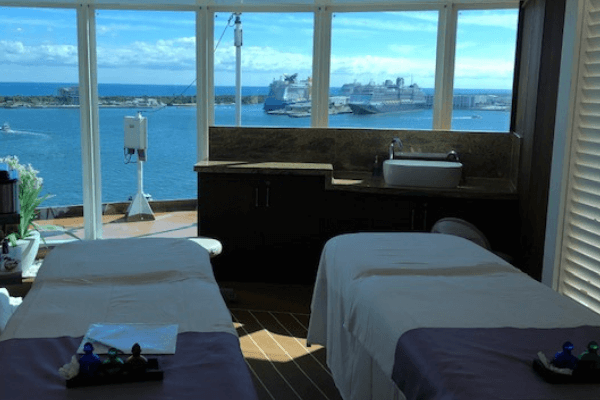 cruise ship massage