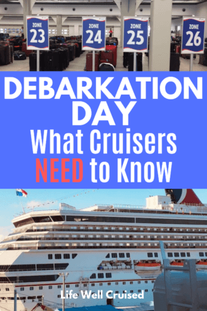 debarkation day tips for cruisers