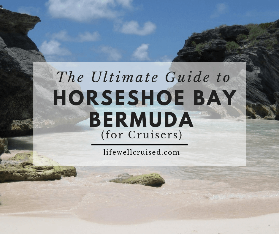 The Ultimate Guide to Horseshoe Bay Beach Bermuda (for cruisers)