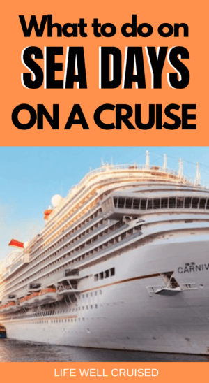 What to do on sea days on a cruise PIN