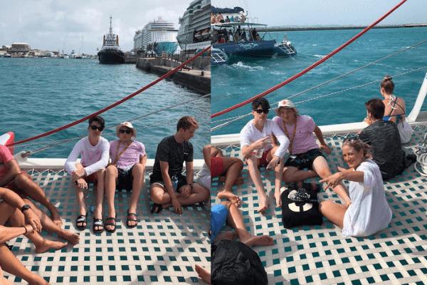 bermuda catamaran Rising son dockyard