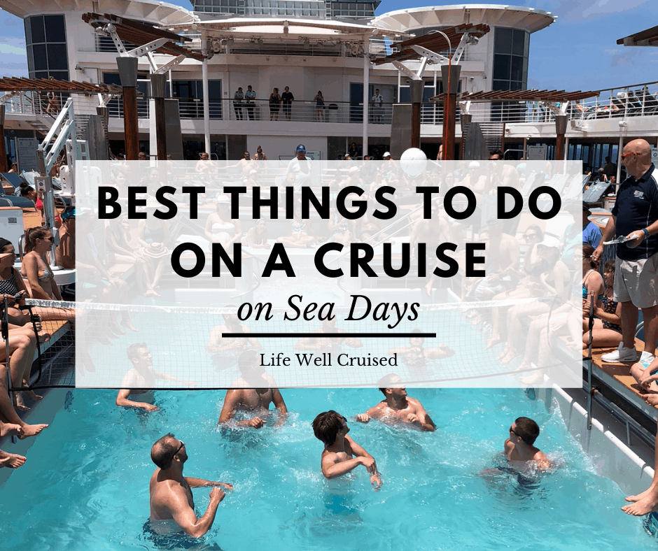 Best Things to Do on a Cruise on Sea Days
