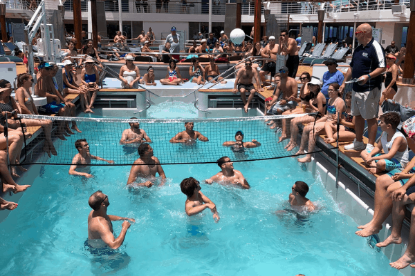 things to do on a cruise pool games