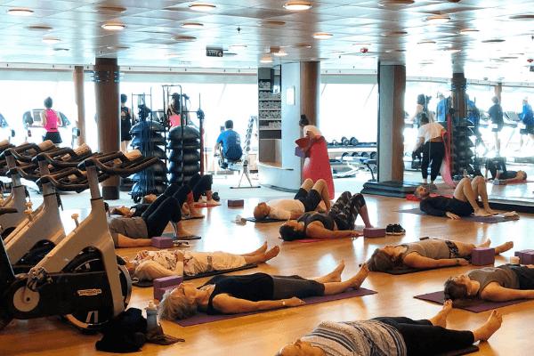 cruise gym class