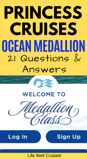 Princess Cruises Ocean Medallion - Questions and Answers