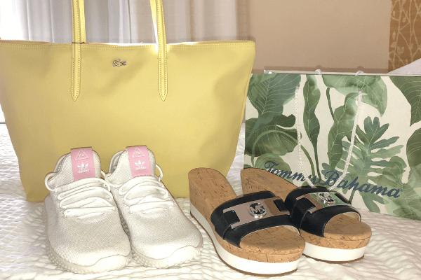 pre cruise shopping