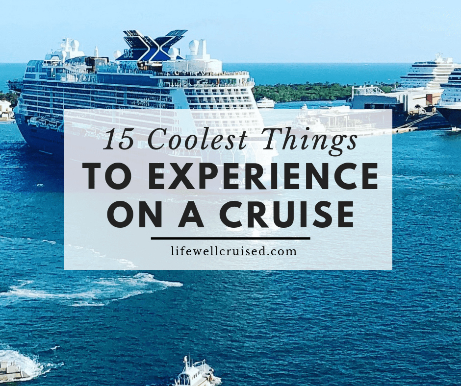 15 Coolest Things to do on a Cruise Ship; with video demonstrations