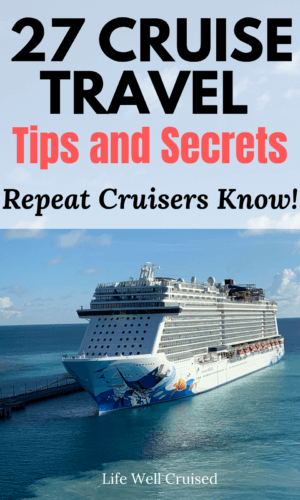 cruise travel tips and secrets