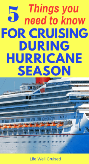 cruising in hurricane season
