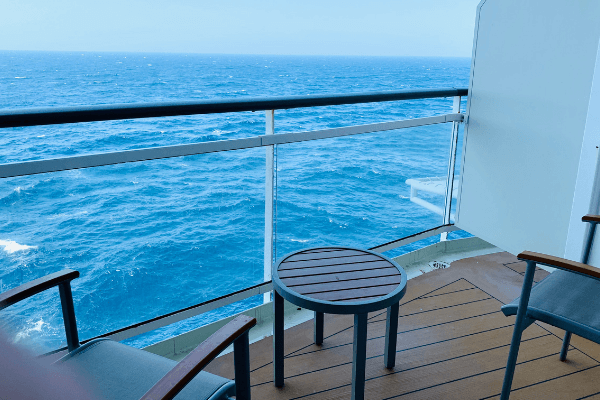 cruise ship balcony cabin