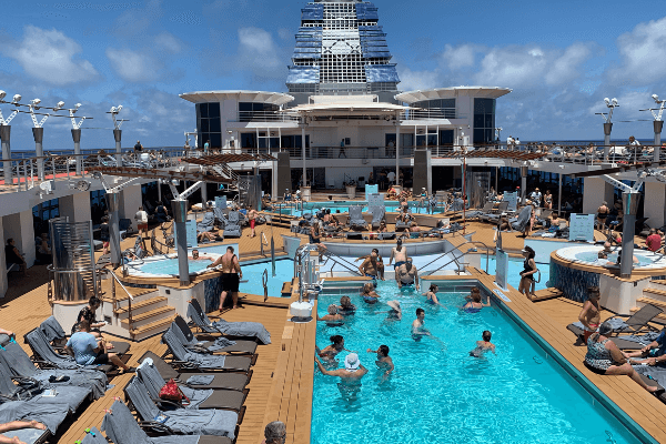 Celebrity Summit Main Pool updated