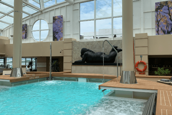 cruise ship solarium pool