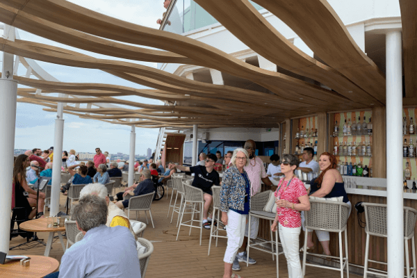 Celebrity Summit Sunet Bar at Sailaway 6 x 4