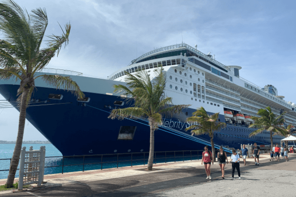 Celebrity Summit dockyard bermuda