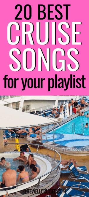 The Best Cruise Songs for Your Playlist PIN image