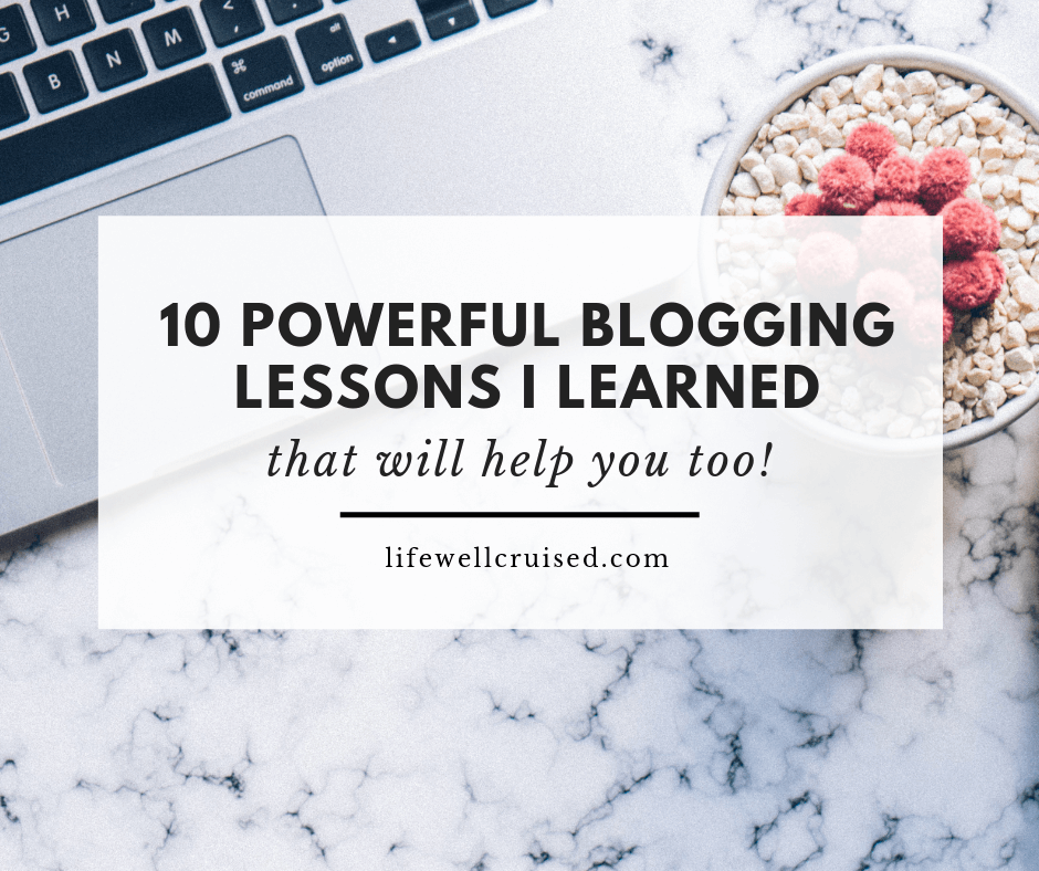 10 powerful blogging lessons