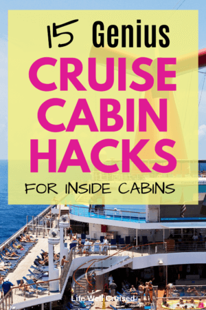 15 Genius Cruise Cabin Hacks for Inside Cabins
