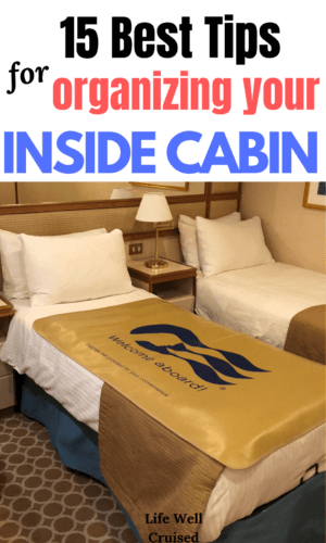 15 best tips for organizing an inside cabin