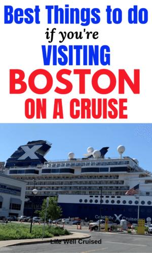 boston on a cruise