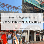 boston itinerary for cruisers