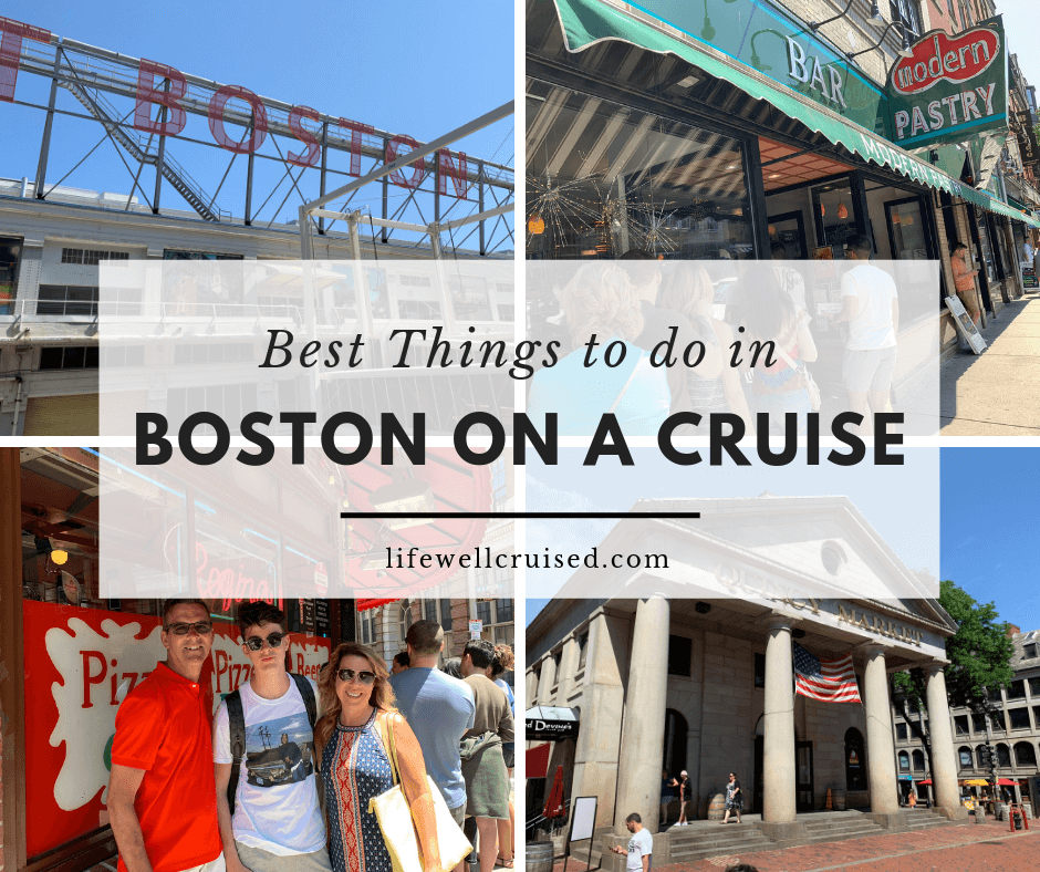 Best Things To Do in Boston on a Cruise (Celebrity Summit Cruise Port Review)