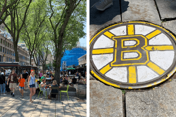 boston bruins and quincy market