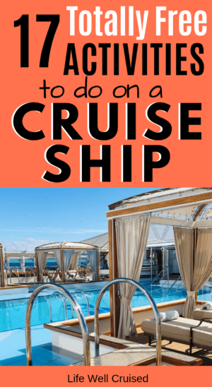 17 free activities to do on a cruise