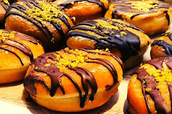 nutella donuts international cafe