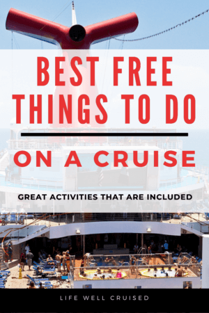 best free things to do on a cruise