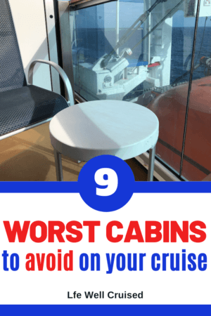 9 Worst Cabins to Avoid on Your Cruise PIN