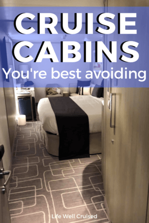 Cruise Cabins You're best avoiding PIN image