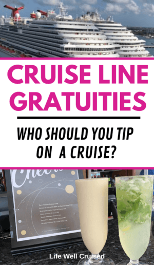 Cruise Line Gratuities - Who Should You Tip on a Cruise