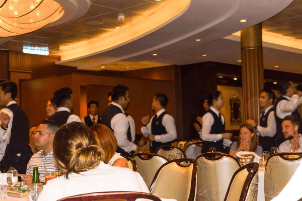 Cruise waiters tipping guidelines