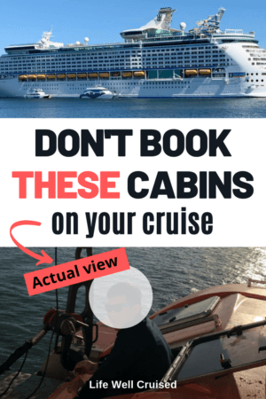 Don't book these cabins on your cruise