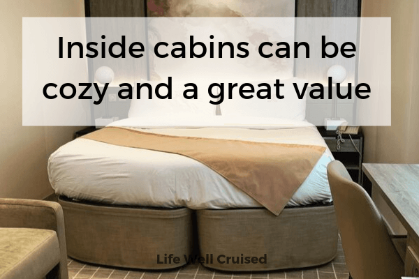 inside cabins can be cozy and good value cabin image