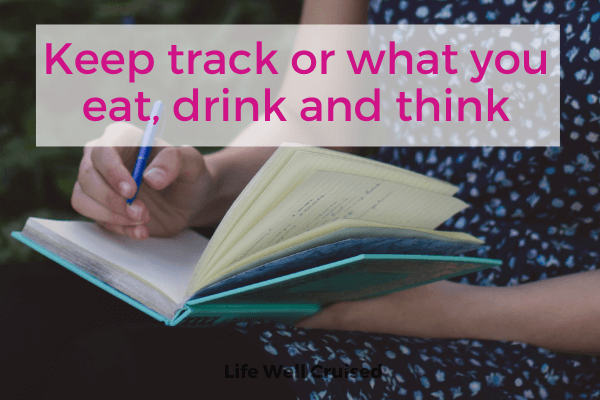 Keep track of what you eat drink and think