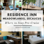Residence Inn Meadowlands Secaucus - where to stay pre cruise
