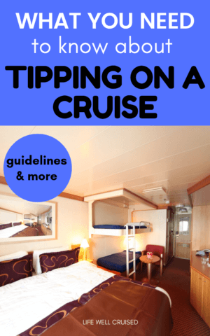 what you need to know about tipping on a cruise PIN image
