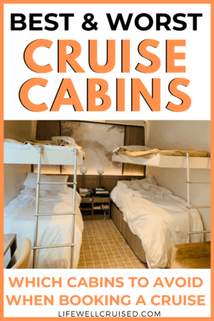 best and worst cruise cabins
