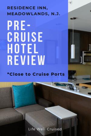 Residence Inn pre-cruise hotel review