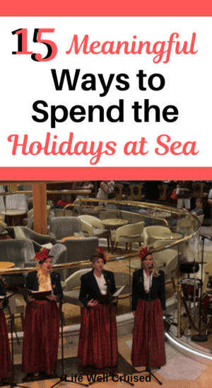 Celebrtate Christmas on a cruise PIN