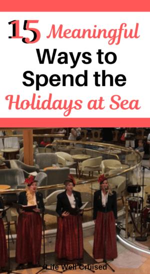 Celebrtate Christmas on a cruise PIN