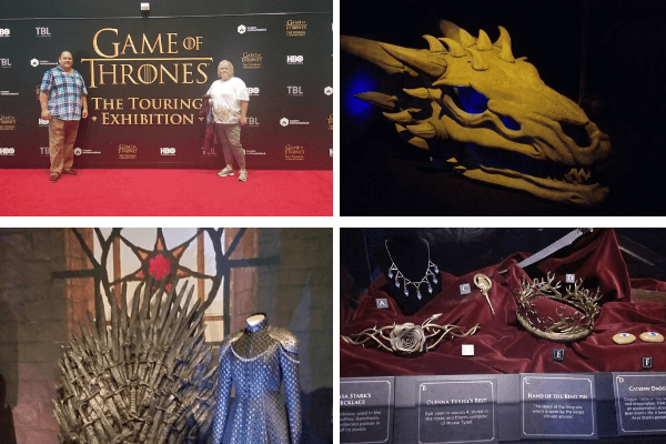 Belfast Game of thrones exhibition