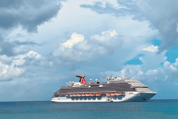 Carnival Cruise at sea