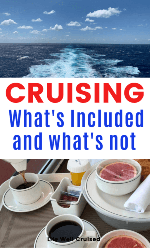 Cruising - what's included and what's not PIN image