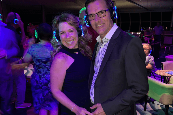 Silent Disco celebrity Summit - Ilana and Frank LWC